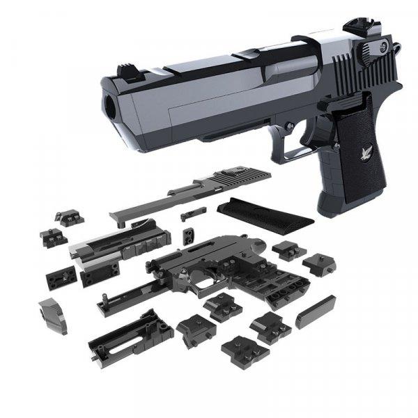 Собери свой пистолет ODILO и играй  (16.5*10 см, от 6 лет)