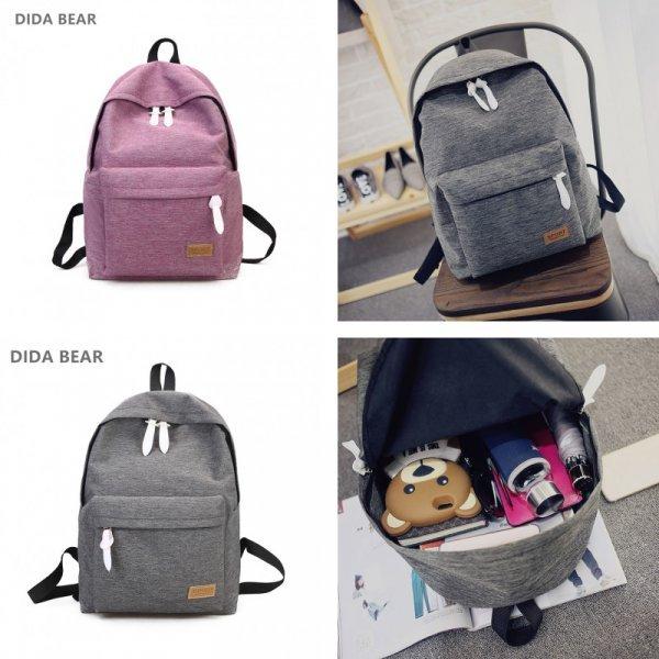 Хит среди студентов! Практичный рюкзак DIDA BEAR  (33*39*14 см, 4 цвета)