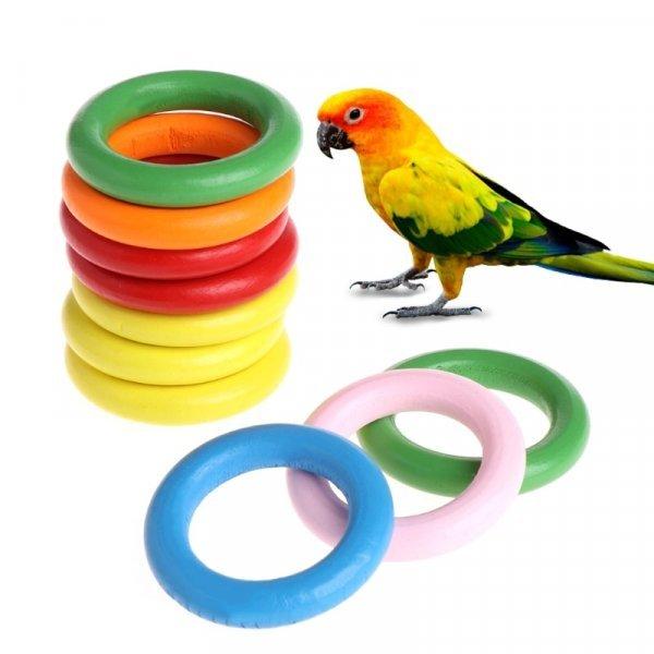 Кольца для игр с попугаем Let's Pet (10 шт)