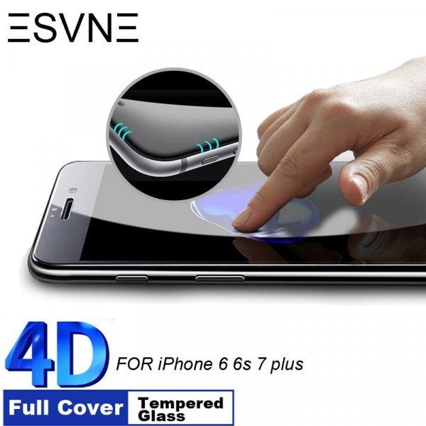 Защитное стекло ESVNE 4D для iPhone 6 и 7