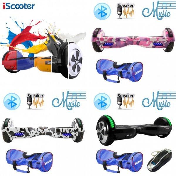 Чумовой гироскутер iScooter с чехлом ( 30 км/ч)