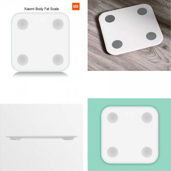 Умные весы Xiaomi с Bluetooth 4.0  для семьи