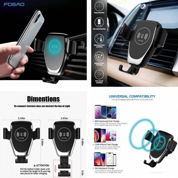 Автомобильная зарядка для телефона FDGAO