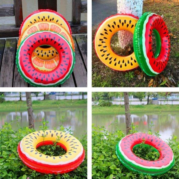 Яркий надувной круг Пончик