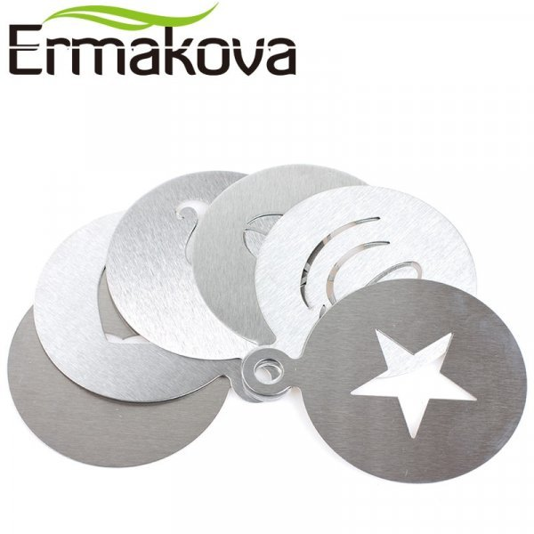 Набор из нержавеющей стали от ERMAKOVA (6 шт)