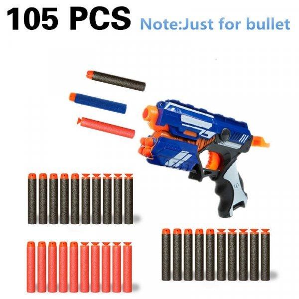 Набор запасных пуль для бластера (Nerf Toy , 105 шт, 7.2 см)