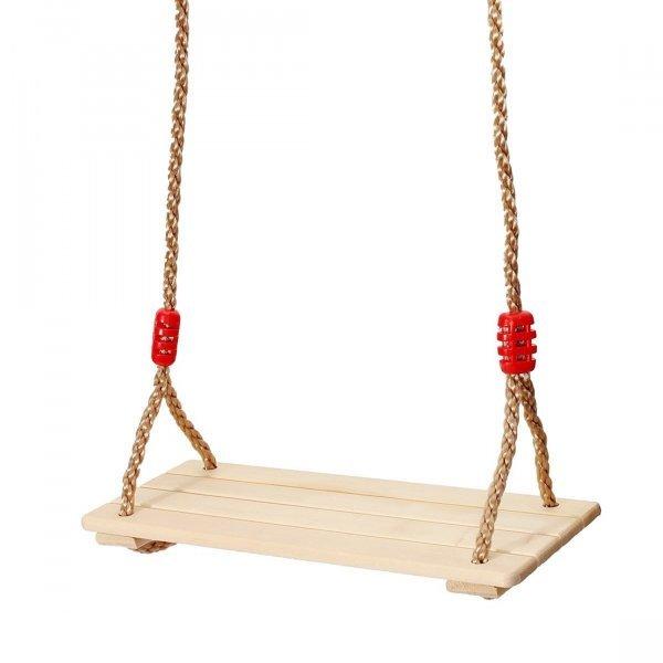 Деревянные качели как в детстве MAGICYOYO (40x16x1.2 см, до 120 кг)
