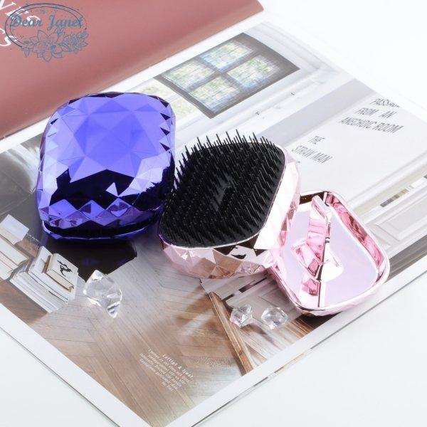 Расческа для волос складная (3 цвета)