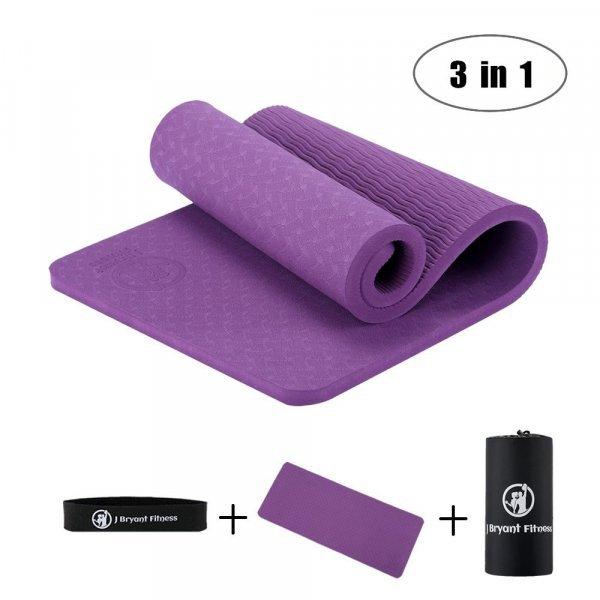 Превосходный коврик для йоги Bryant 3 в 1 (10 мм, 60*25 см, 2 цвета)
