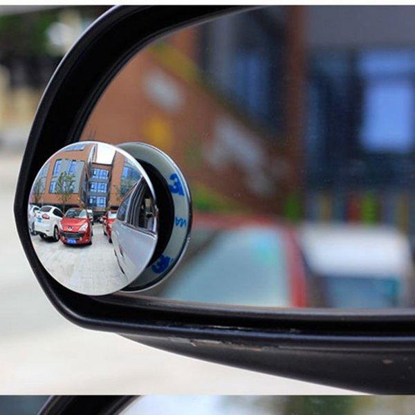 Выпуклое зеркало без оправы от VINIDNAME (2 шт)