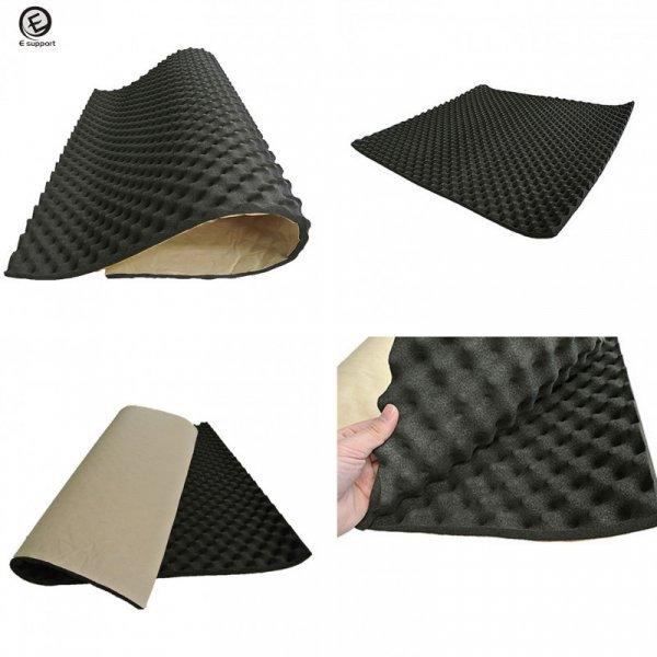 Каучуковый звуко-теплоизоляционный материал для авто (50*100* 20 мм)