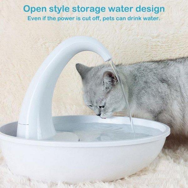 Поилка для кошек (2,34 л)