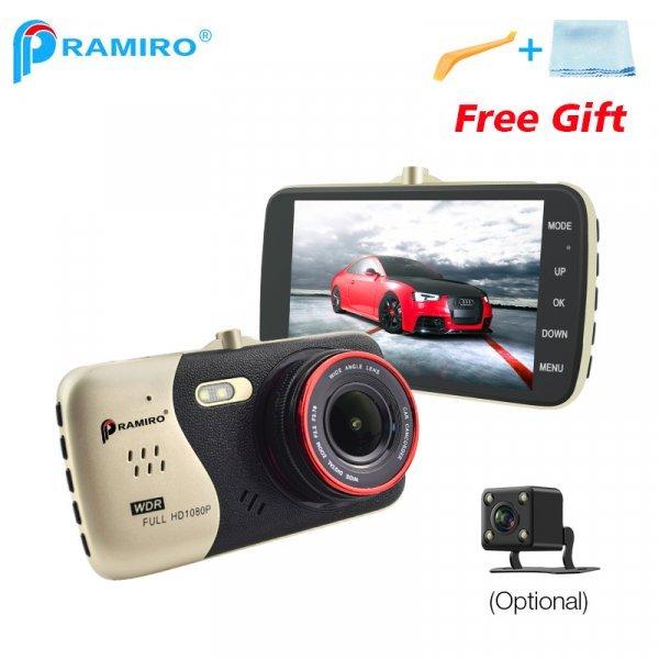 """Автомобильный видеорегистратор PRAMIRO (4.0""""  IPS Full HD 1080 P 170 градусов)"""