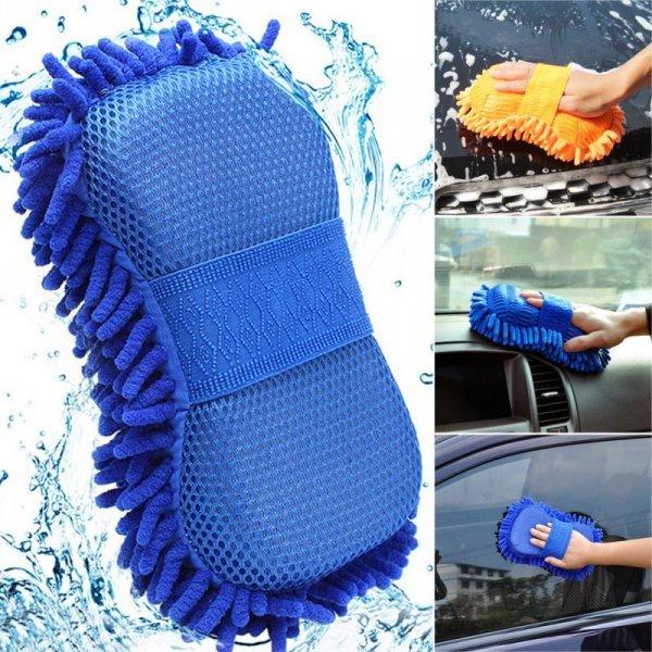 Шикарная губка для мытья и сухой уборки салона авто