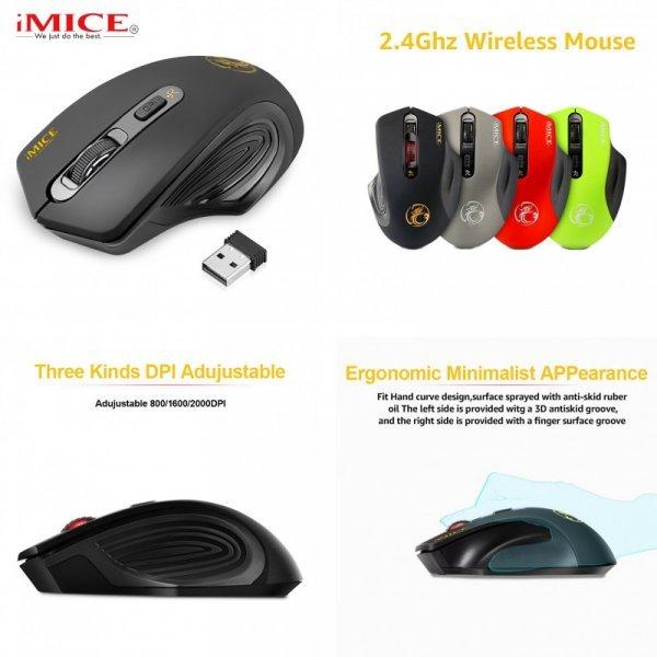 Беспроводной Мышь Imice  2000 dpi  - доступная мечта