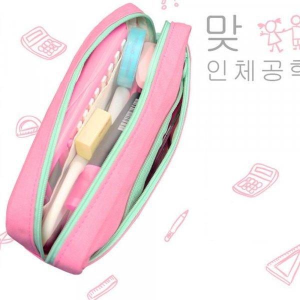 Школьный пенал для девочек TOUCHNEW (4 цвета, 198*86*45 мм)