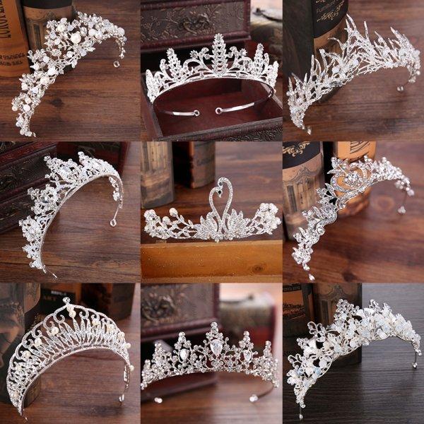 Изящная корона для невесты FORSEVEN (20 вариантов)