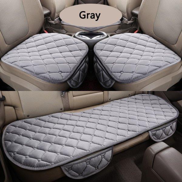 Нескользящая накладка на сиденье авто (5 цветов, ткань)