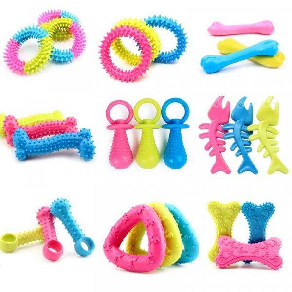 Крепкая игрушка для щенков PUTIMI (1 шт, 9 цветов)