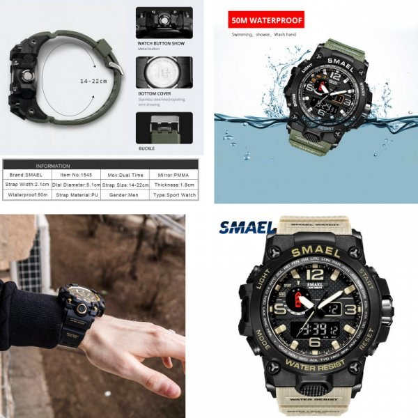 Мужские часы SMAEL