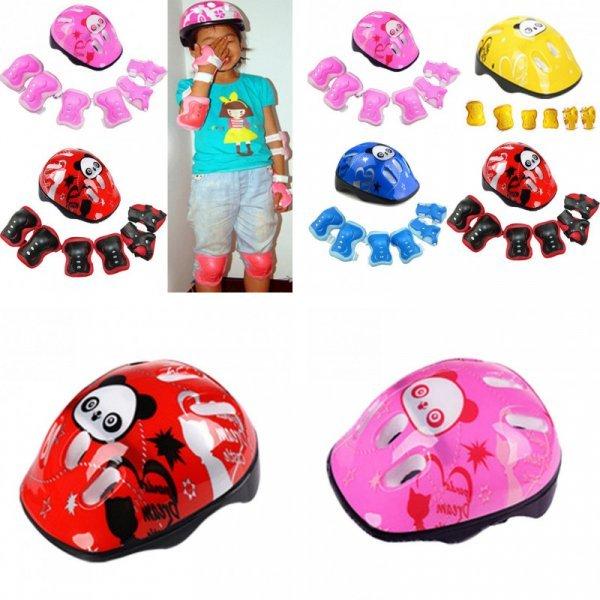 Детский велошлем с защитой EACHGO (7 в 1, 4 цвета)