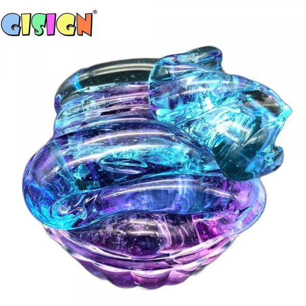 Яркий слайм GISIGN (4 цвета)