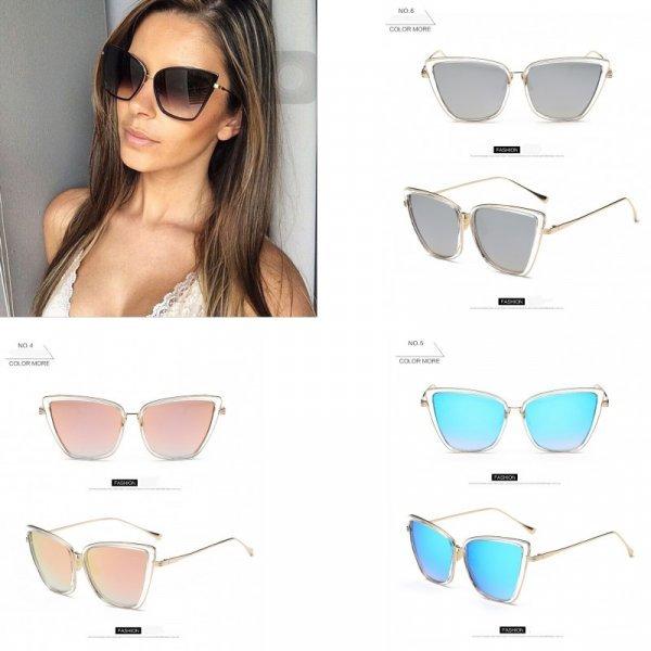 Солнечные очки для женщин ROBESBON (UV 400, 6 цветов)
