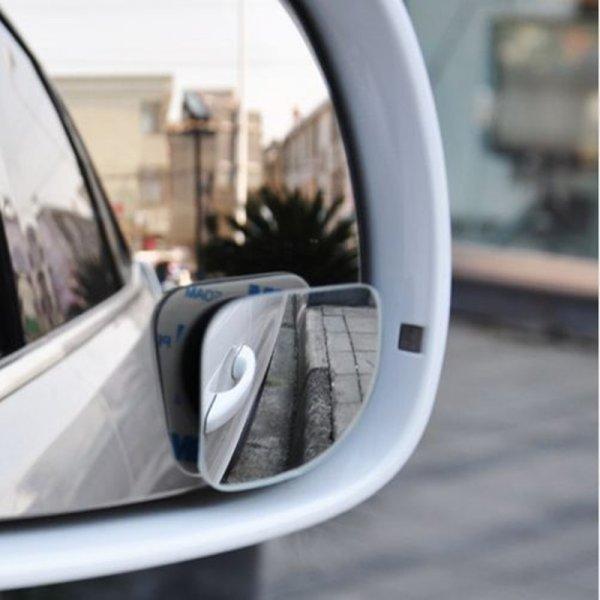 Стеклянное зеркало на липкой ленте от BOASE (2 шт)