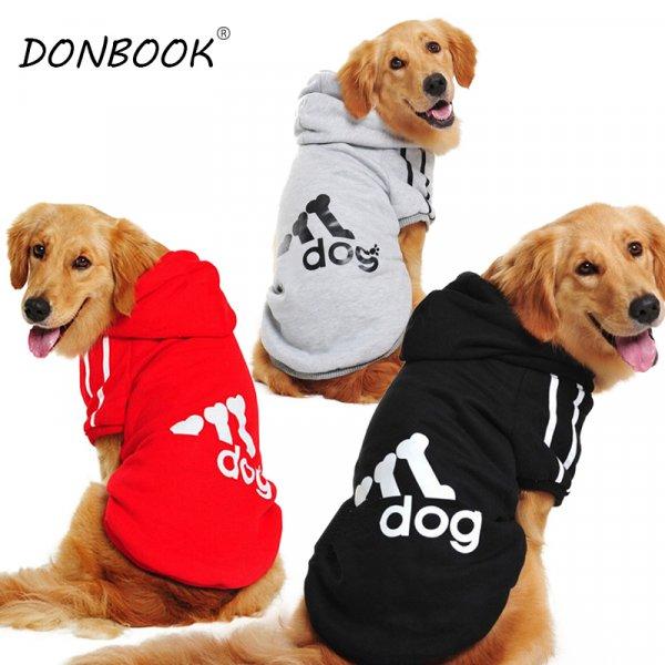 Стильная толстовка DONBOOK для собак среднего роста