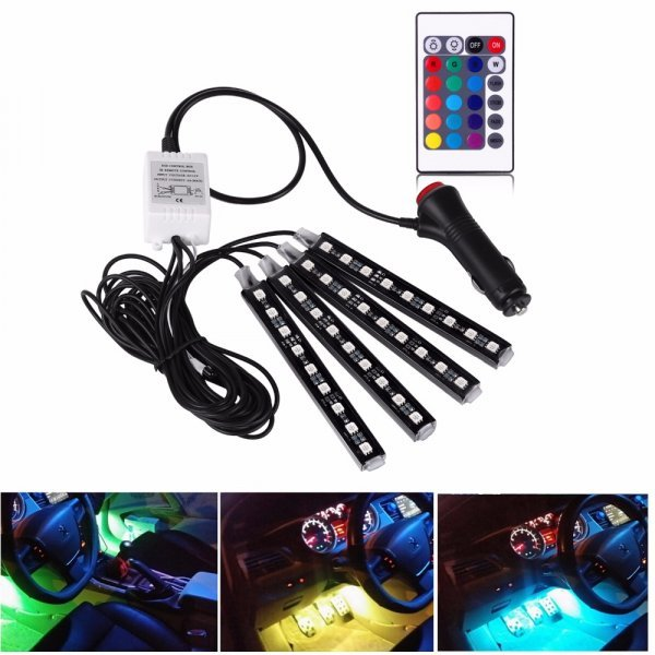 Светодиодные ленты для салона авто от ONEVER