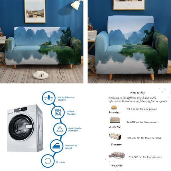 Чехол на мебель (34 принта, 4 размера)