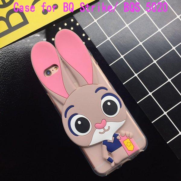 Милый 3D чехол Кролик  для BQ