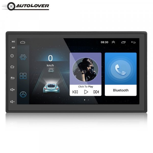 Магнитола 2 DIN с навигацией Autolover (Android 7,0 Bluetooth WiFi)