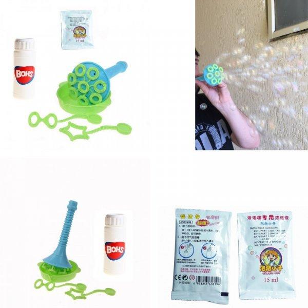Шикарный набор мыльных пузырей с аксессуарами BOHS