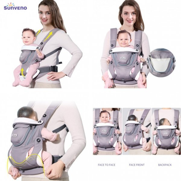 Удобный эргорюкзак SUNVENO для детей