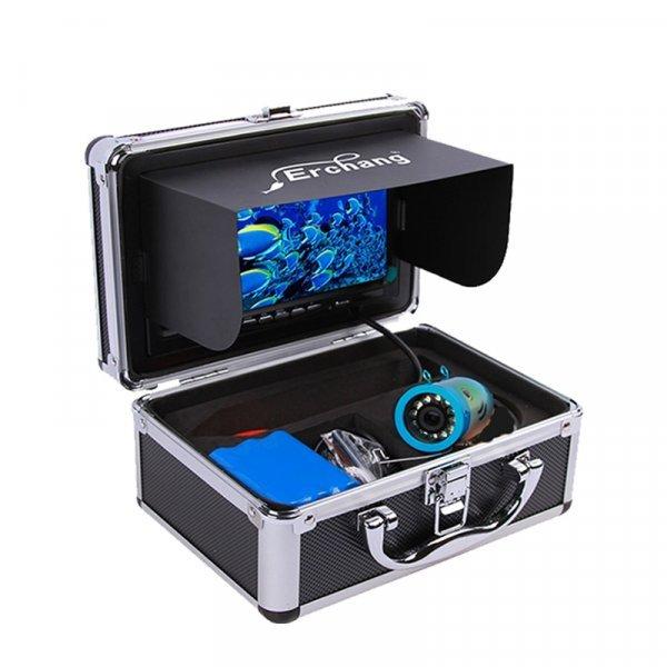 """Мощная камера для зимней рыбалки Erchang 7"""" с аксессуарами (до 30 м)"""