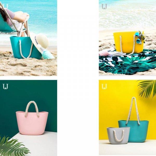 Летняя сумка из силикона DaoMaiSoulmate  (4 цвета)