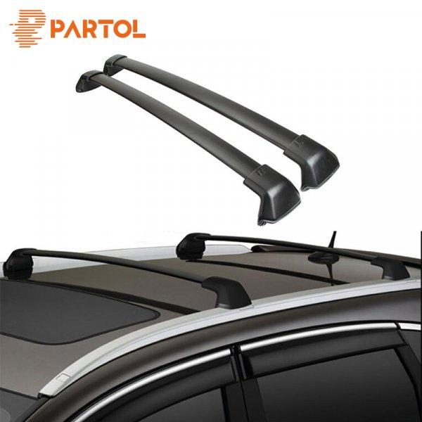 Супер багажник для авто Partol (41*5.5*15 см, для Honda CRV 2012-2016)