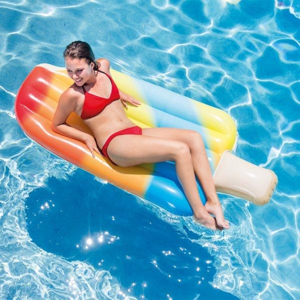 Надувной матрас Мороженое для заплывов или релакса