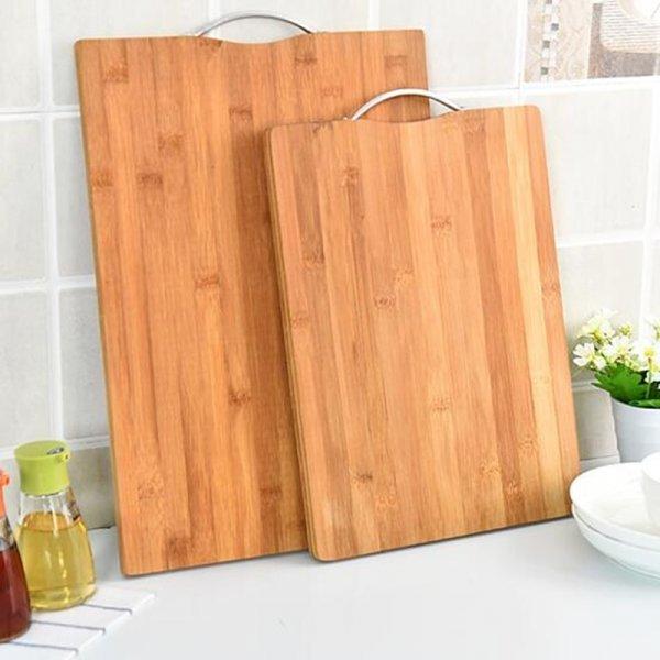 Отличная разделочная доска из бамбука Halojaju (4 размера)