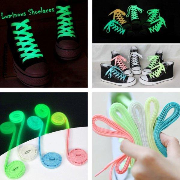 Светящиеся шнурки KAIGOTOQIGO (5 цветов)