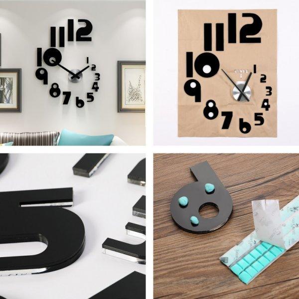 Необычные часы на стену MEISD (2 размера)