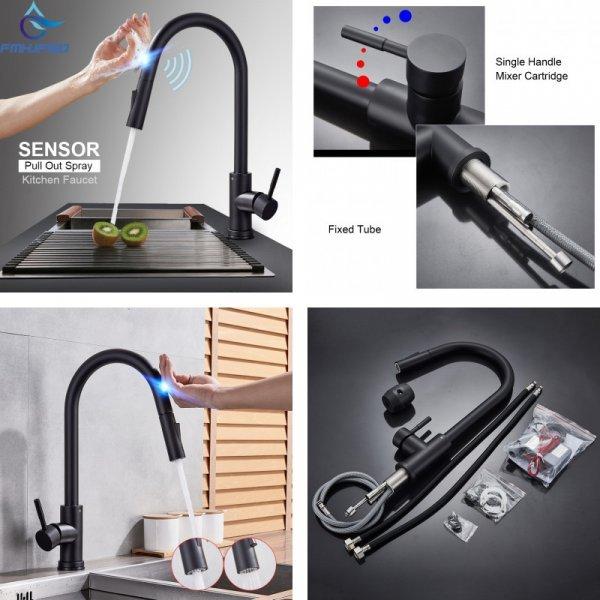 Сенсорный смеситель для кухни Fmhjfisd (4 цвета)
