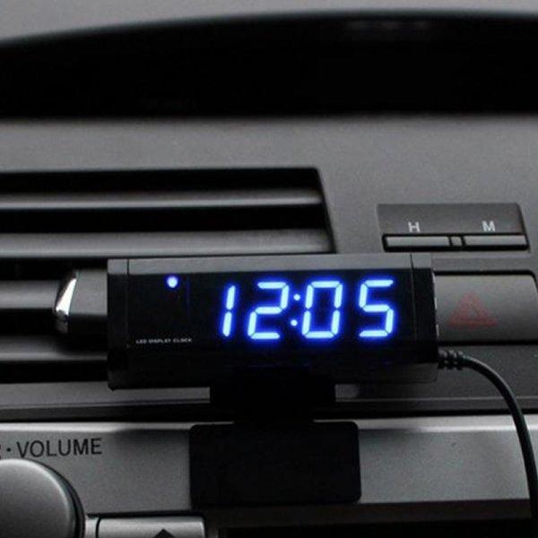 Компактные часы для всех марок авто VODOOL