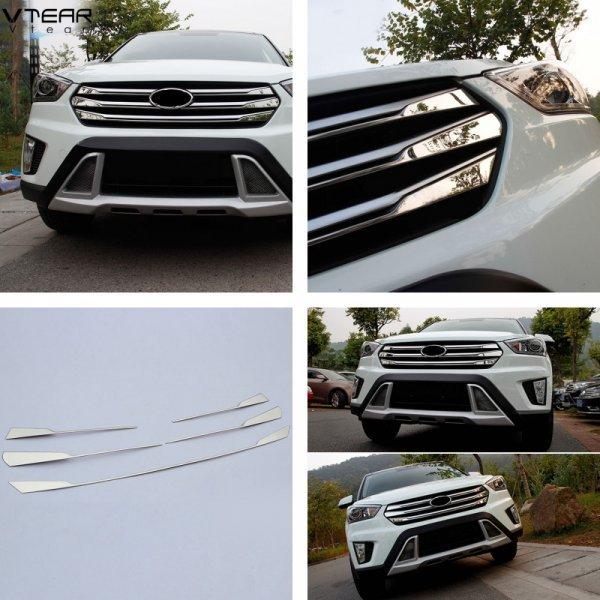 Накладка на решетку радиатора для Hyundai (Creta и ix25)