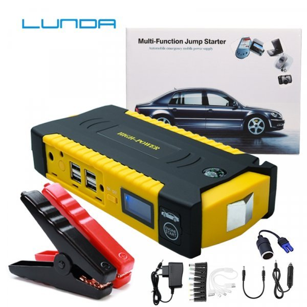 Автомобильное пуско-зарядное устройство LUNDA