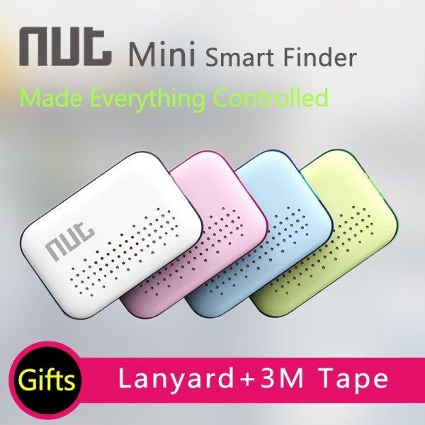Стильный брелок-трекер для ключей авто NUT