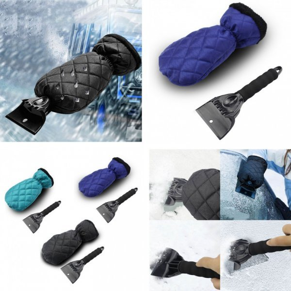 Скребок-рукавичка  discountHEH (3 цвета)