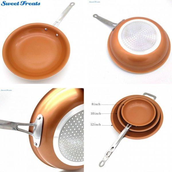 Легкая сковорода с вечным покрытием Sweettreats для керамики и индукции (43*25.5 см)