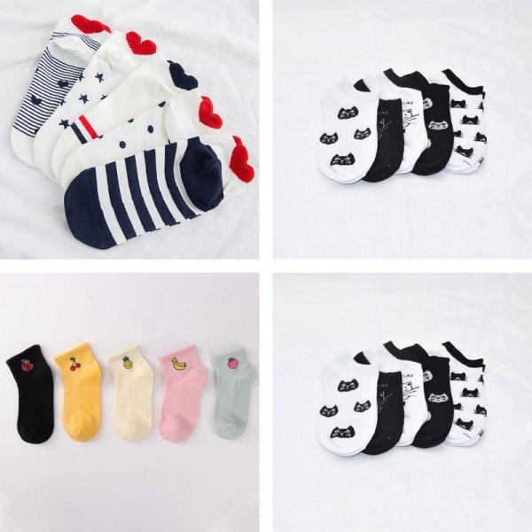 Носочки для модниц ECMLN (5 видов)
